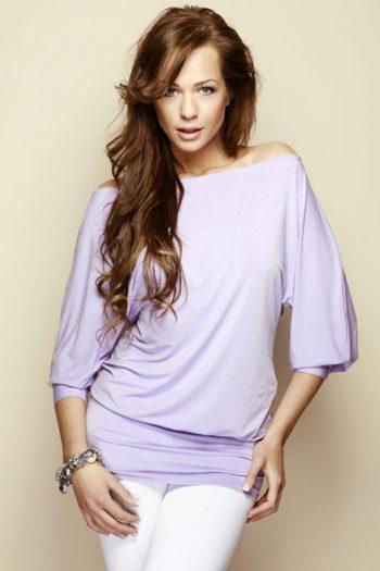 Bluză Figl violet