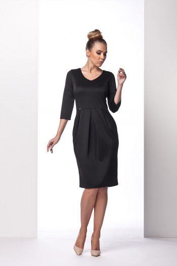 Rochie de zi Lemoniade negru