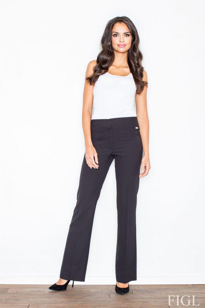 Pantaloni de damă Figl negru