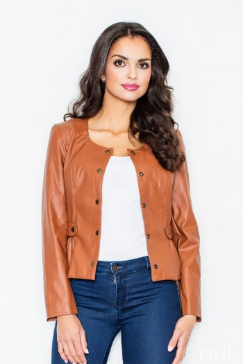Jachetă Figl maro