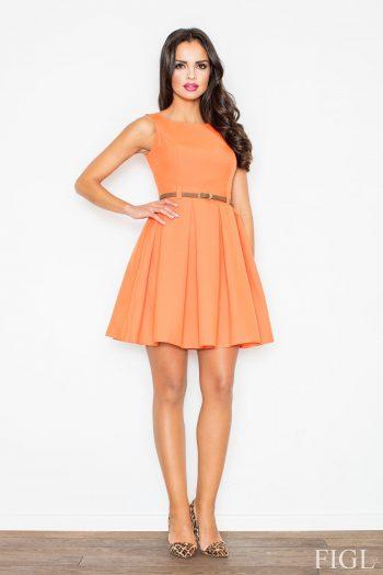 Rochie de zi Figl portocaliu