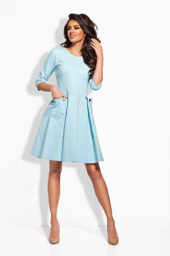 Rochie de zi Lemoniade albastru