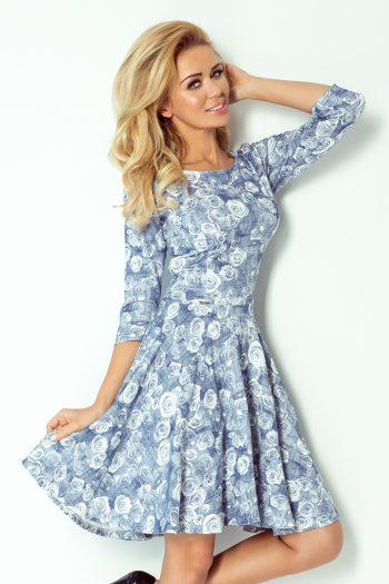 Rochie de zi Numoco albastru