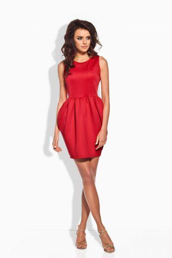 Rochie elegantă Lemoniade roşu