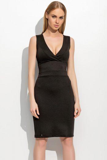 Rochie de seară Makadamia negru