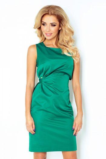 Rochie elegantă Numoco verde