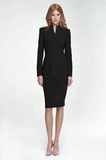 Rochie elegantă Nife negru