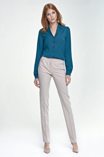 Pantaloni de damă Nife bej