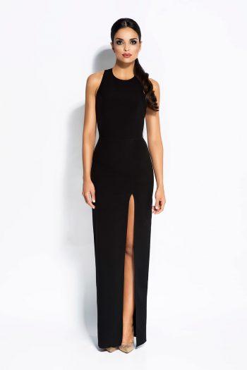 Rochie lungă Dursi negru