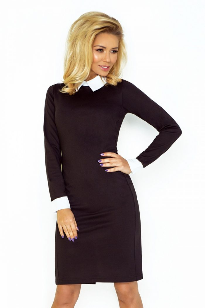 Rochie elegantă Numoco negru