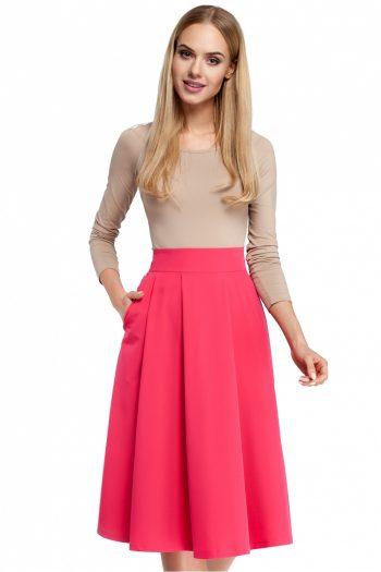 Fustă Moe roz