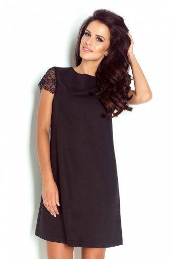 Rochie elegantă IVON negru