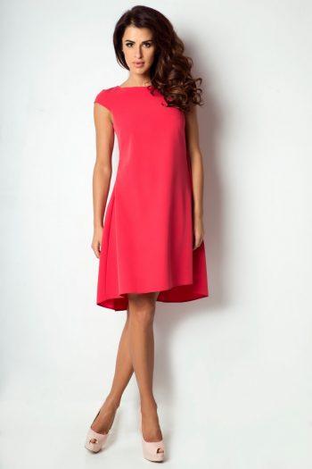 Rochie elegantă IVON roşu