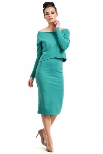 Rochie de zi BE verde