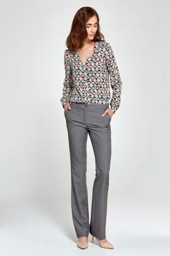 Pantaloni de damă Nife gri