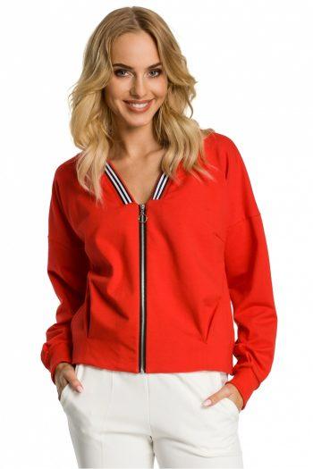 Jachetă Moe roşu