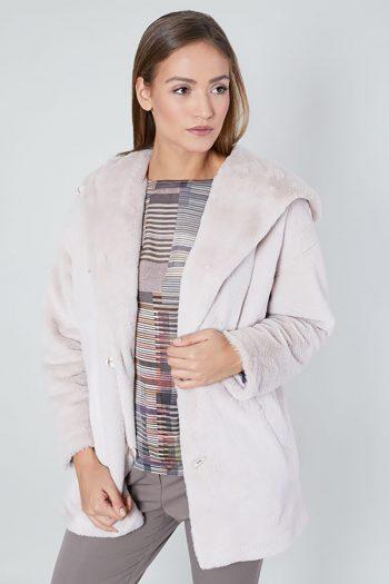 Jachetă Click Fashion roz