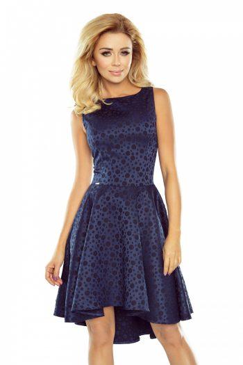 Rochie elegantă Numoco Bleumarin