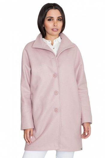Palton Figl roz