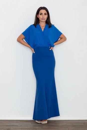 Rochie lungă Figl albastru