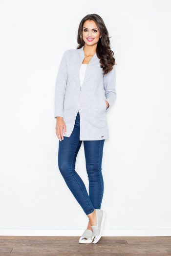 Jachetă Figl gri