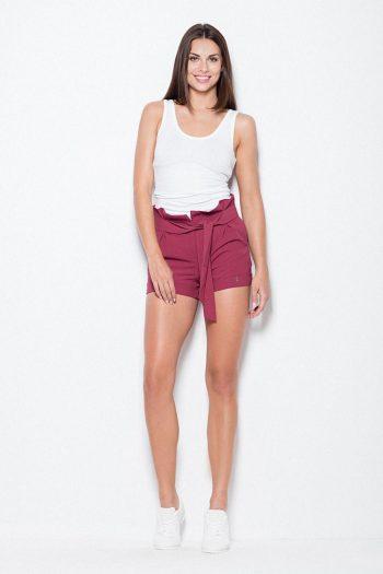 Pantaloni scurţi Venaton roşu