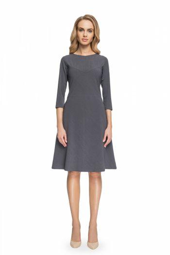 Rochie elegantă Style gri