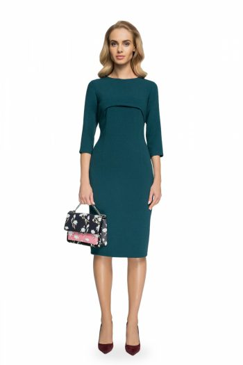 Rochie elegantă Style verde