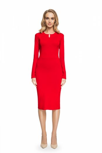 Rochie elegantă Style roşu