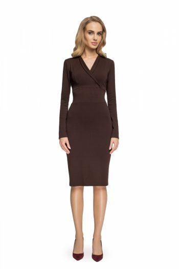 Rochie elegantă Style maro