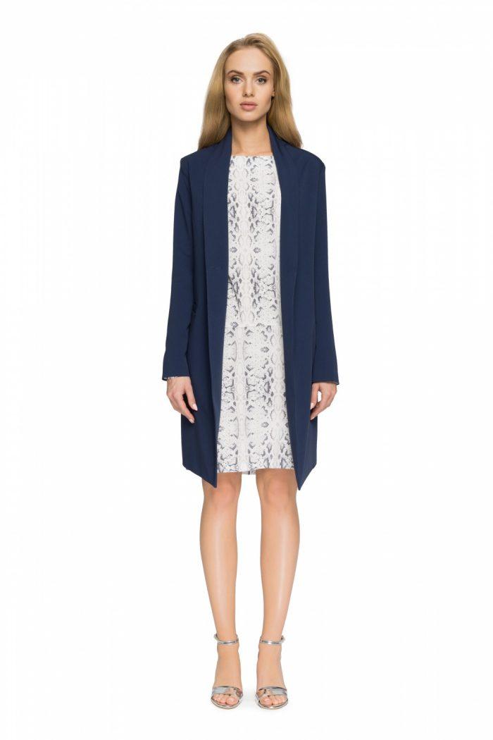 Palton Style Bleumarin