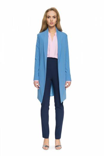 Palton Style albastru