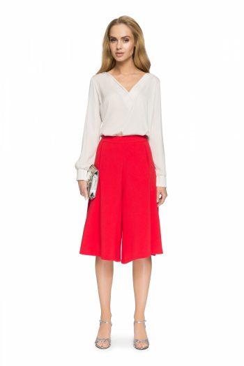 Rochie pantalon Style roşu