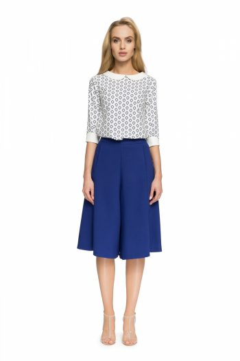 Rochie pantalon Style albastru