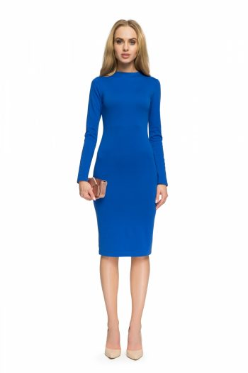 Rochie elegantă Style Bleumarin
