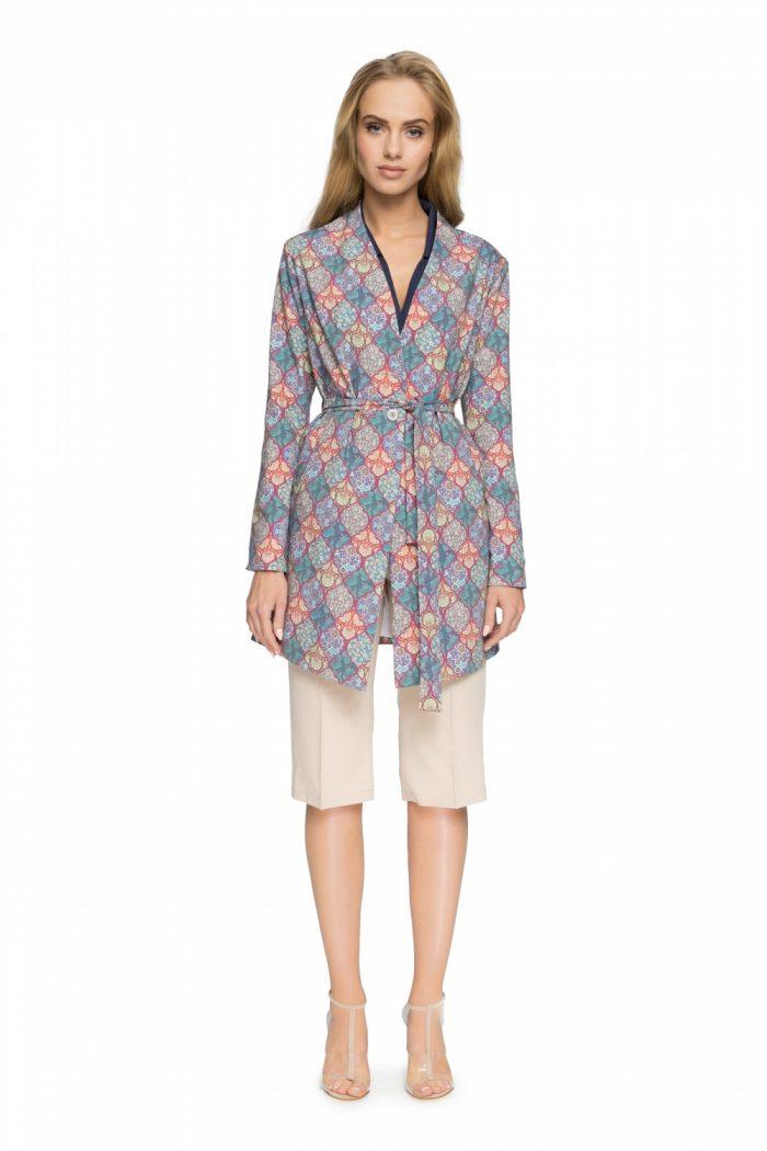 Palton Style multicolor