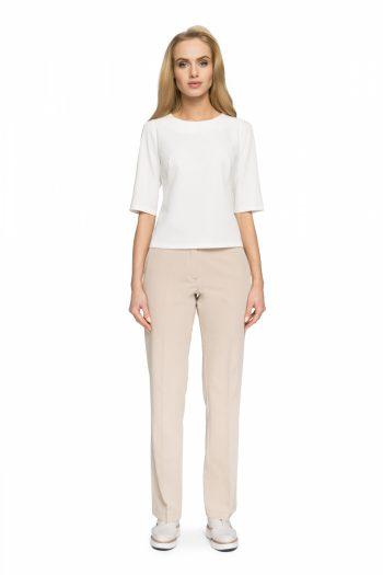 Pantaloni de damă Style bej