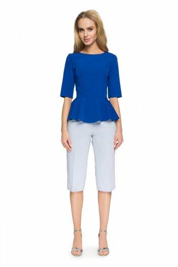 Bluză Style albastru