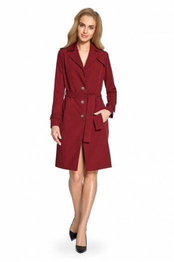 Palton Style roşu