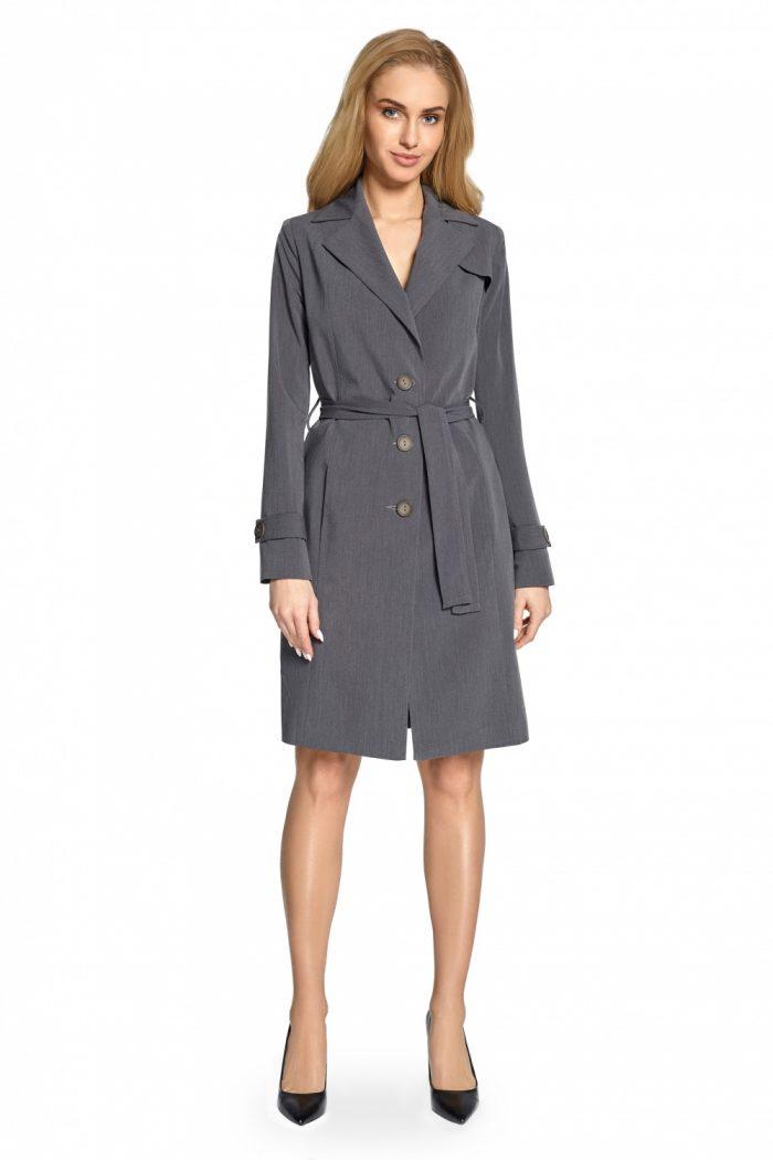 Palton Style gri