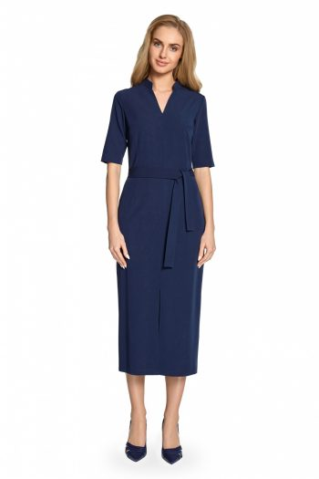 Rochie de zi Style Bleumarin