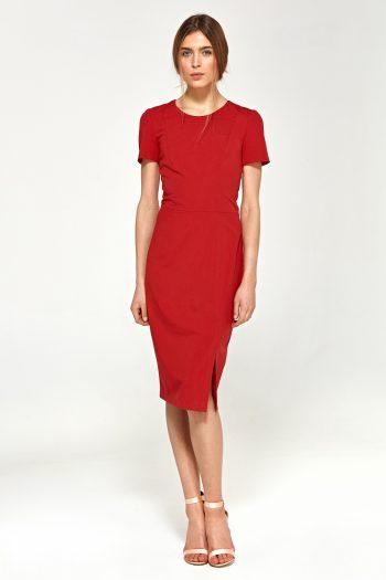 Rochie elegantă Nife roşu