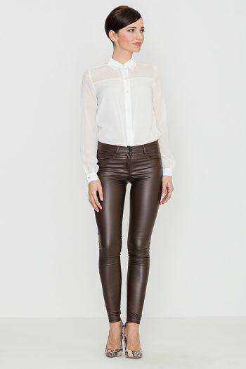 Pantaloni lungi Lenitif maro