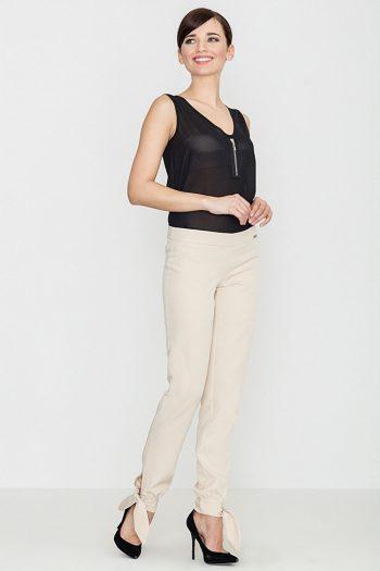Pantaloni lungi Lenitif bej