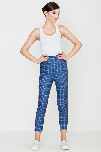 Pantaloni de damă Lenitif albastru