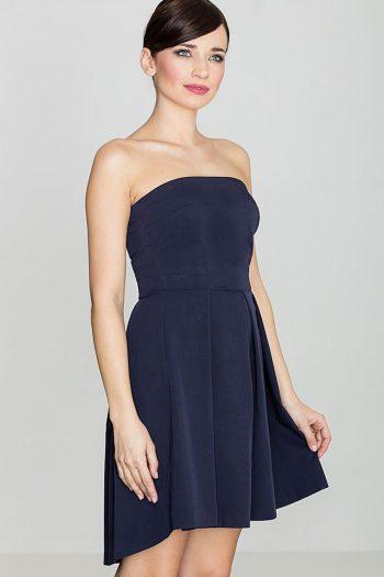 Rochie elegantă Lenitif Bleumarin