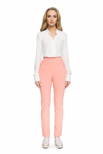 Pantaloni de damă Style roz