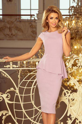 Rochie elegantă Numoco violet