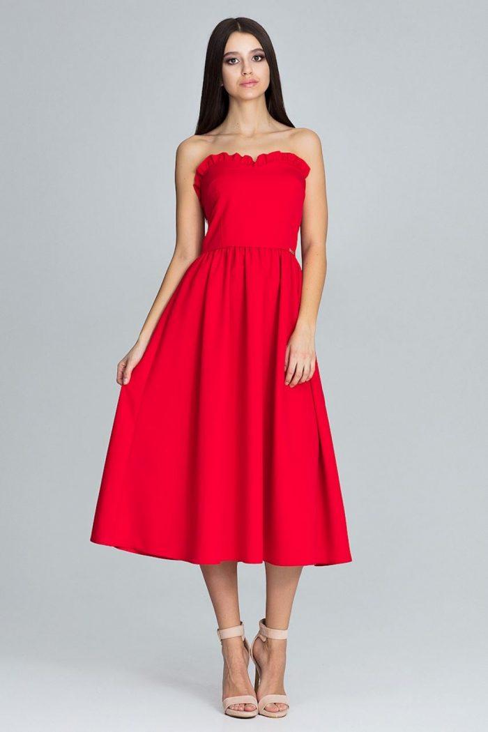Rochie de seară Figl roşu