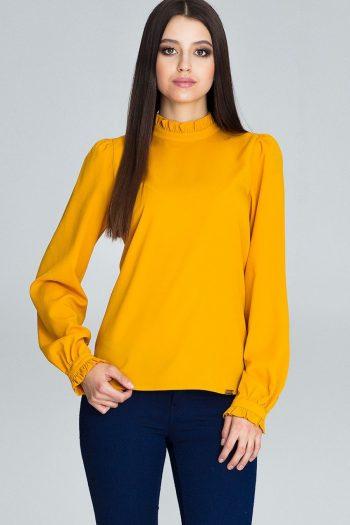 Bluză Figl galben